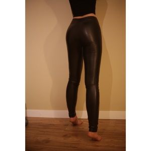 Wilfred Rebelle Faux Leather pants